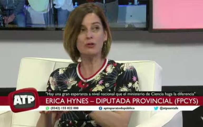 """Erica Hynes: """"Los trabajadores públicos ya sufrieron el ahorro del nuevo gobierno"""""""